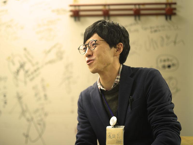 長岡俊平さん