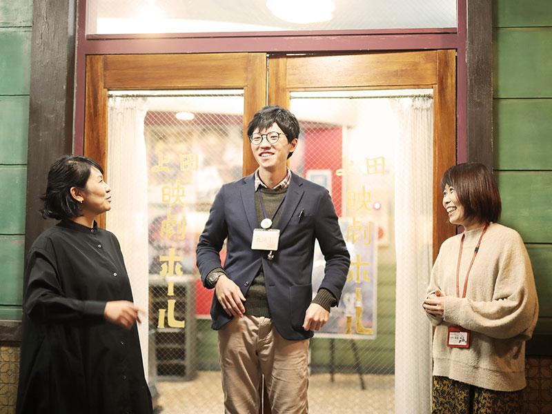 平形さん、長岡さん、直井さん