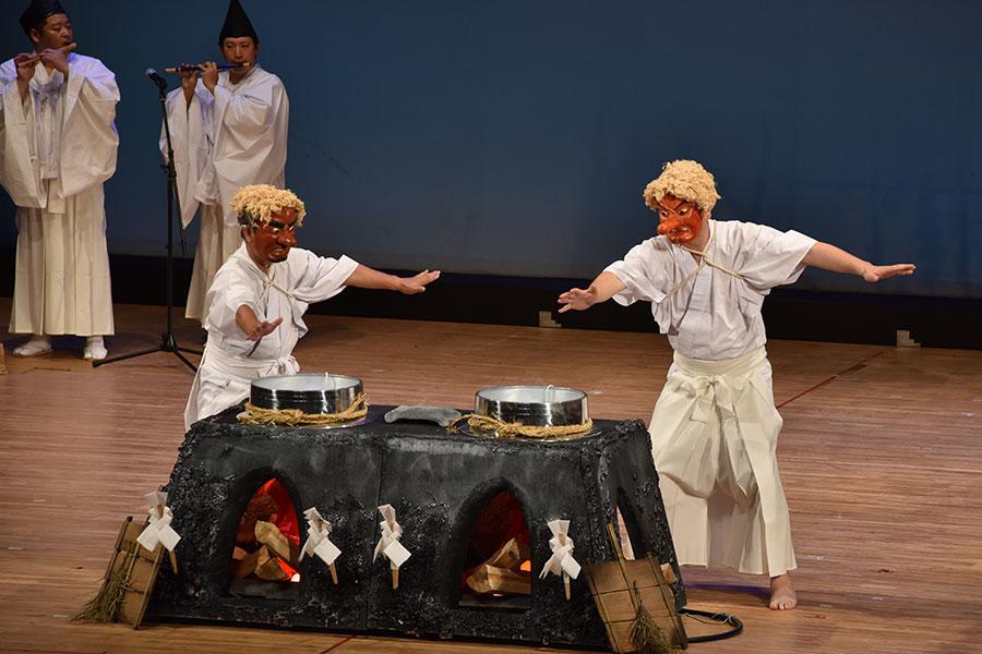 『信州の伝統芸能フェスティバルin白馬』レポート