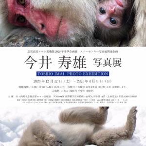2020年冬季企画展 スノーモンキー写真展関連企画 「今井寿雄 写真展」