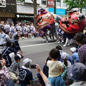 第5回ながの獅子舞フェスティバル
